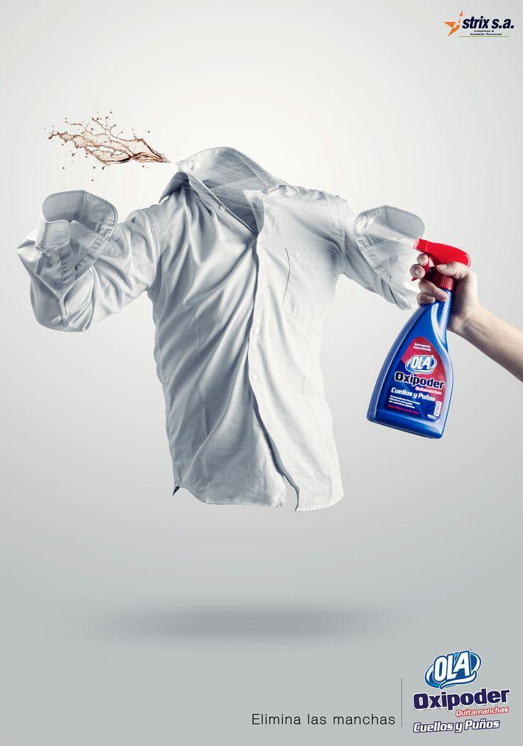 Ola: Eliminating stains, 1