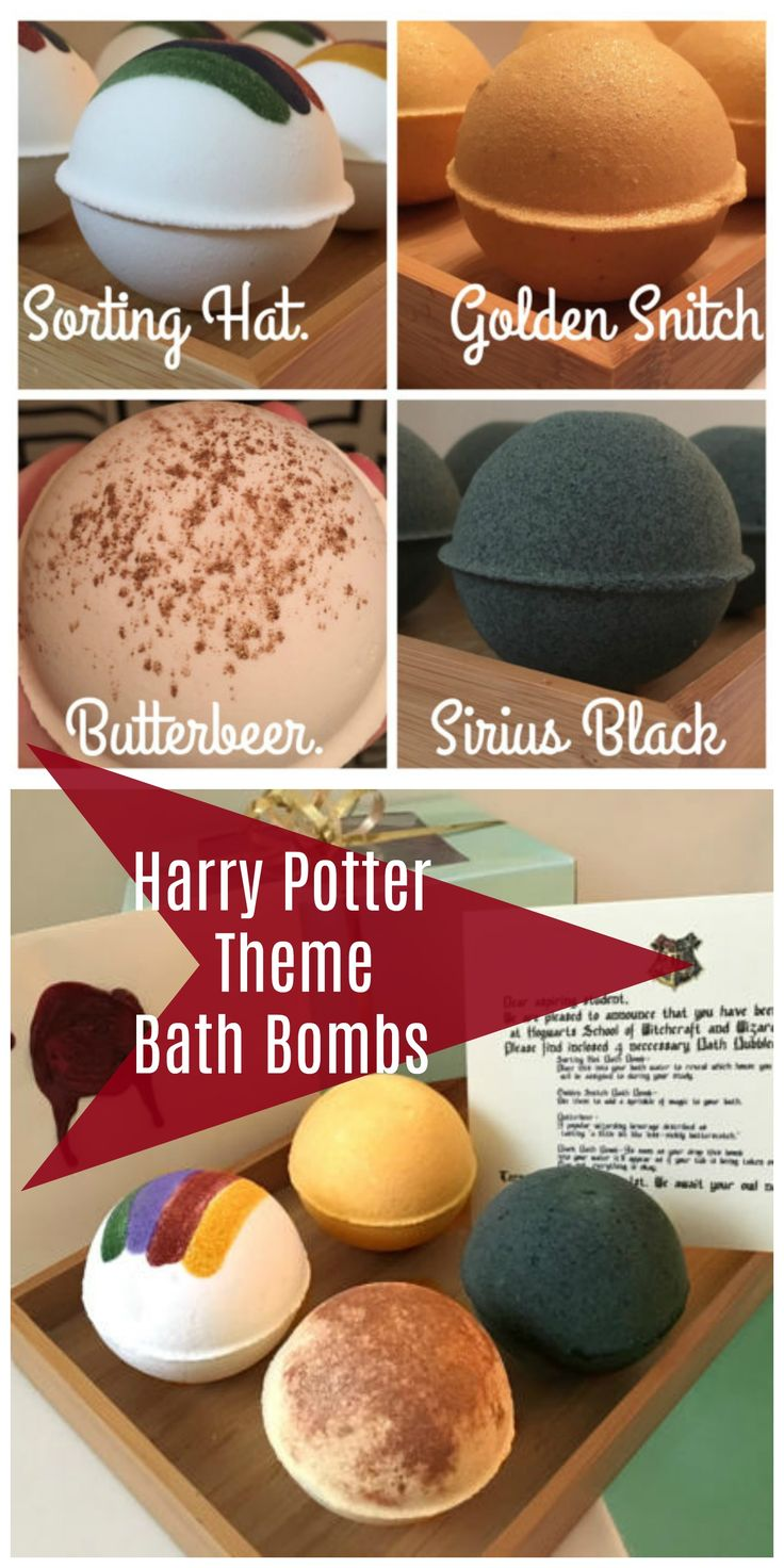 Harry Potter Bath Bomb Gift Set, Bath Gift Set, Harry Potter Gift, Harry Potter Bath Bomb, Bath Bomb, Bath Bomb. aff