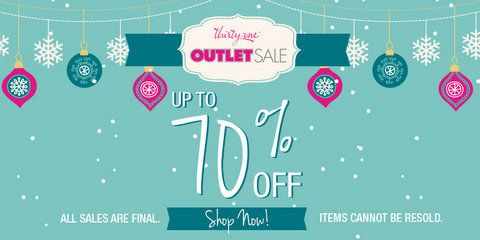 *HOT!* Annual Thirty-One Outlet Sale Is Live! Up to 70% Off Popular Items!