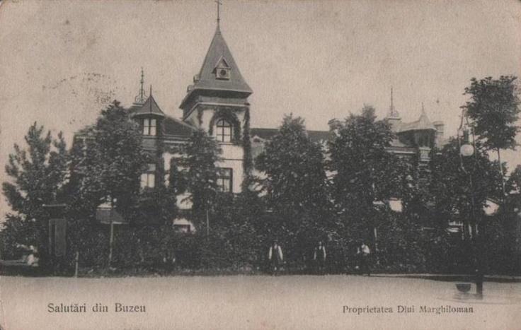 Buzau,Proprietatea Dlui. Marghiloman anii 1900