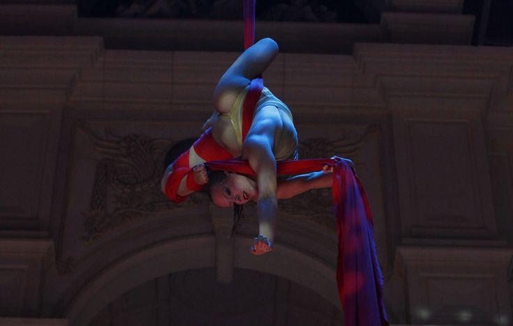 dark circus aerial ring