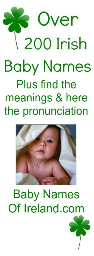All the best baby names and you can hear famed author, Frank McCourt say each name!