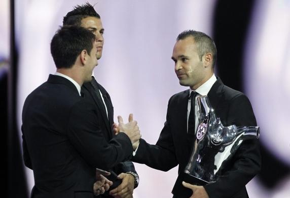 parabéns Iniesta!