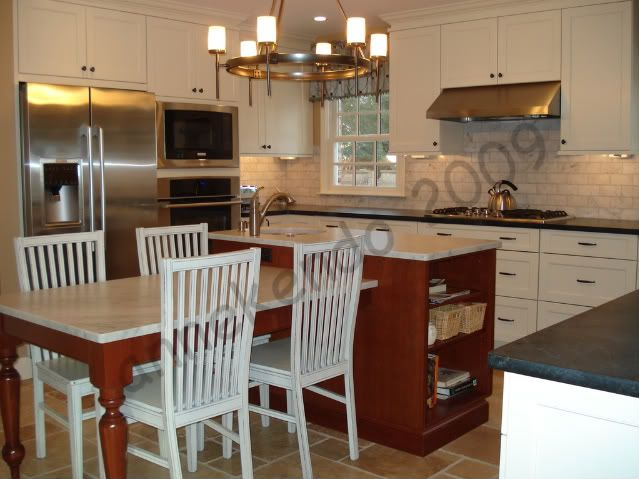 kitchen island with dining table attached kitchen island with table attached kitchen island 9432