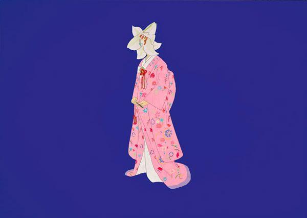 takeshi kitano painting from Hanabi 1997