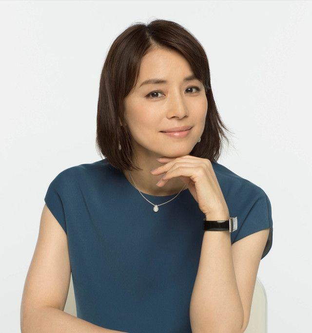 この髪型も素敵な石田ゆり子