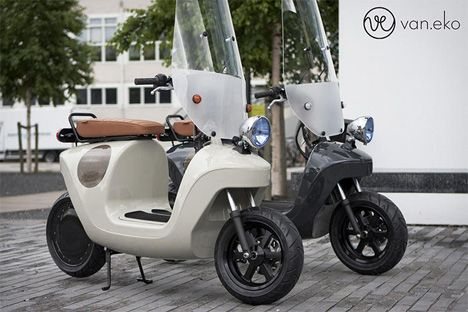 Clean + Green: Electric Scooter Made of Hemp-Based Plastic