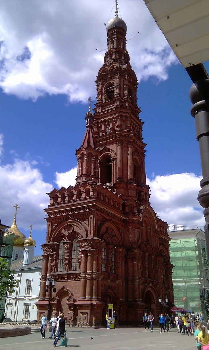 Bell-tower, Baumman Street Kazan Russia