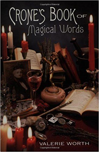 Crone's Book of Magical Words: Valerie Worth: 9781567188257: Amazon.com: Books