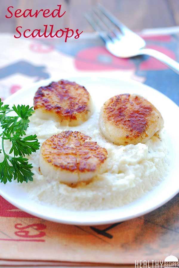 Seared Scallops | Healthy Recipes Blog