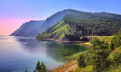 Lago Baikal.