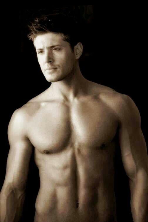 Jensen shirtless!!!
