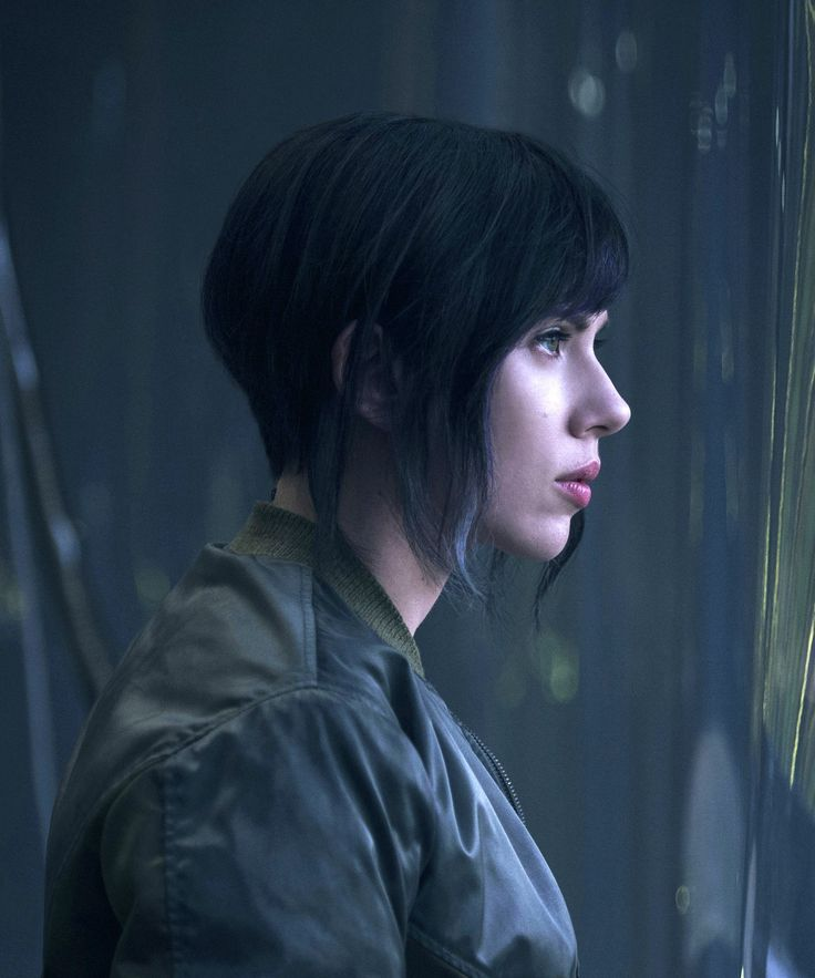 ghost in the shell hair - Google Search