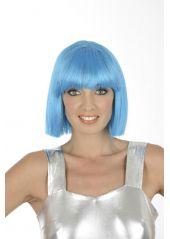 http://www.decodefete.com/4771-1-perruque-crazy-turquoise.html Pour adopter un look de danseuse de cabaret. #perruque #deguisement