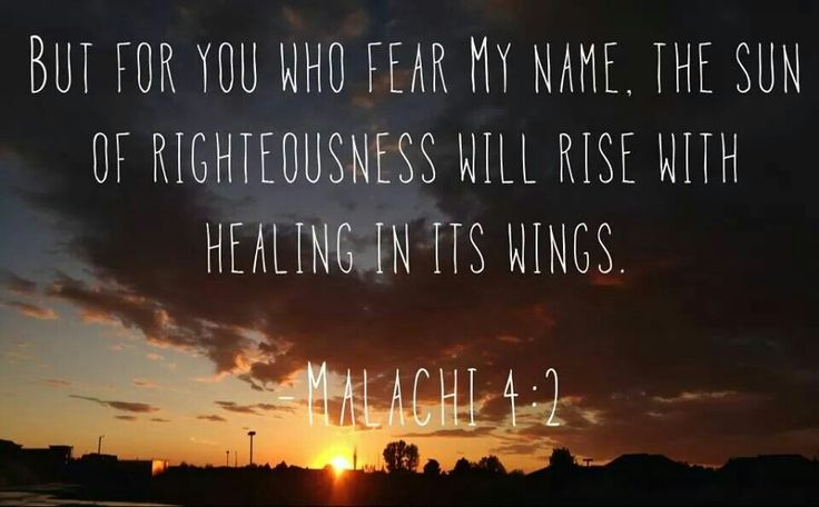 36 Best Images About Malachi 4:2 On Pinterest