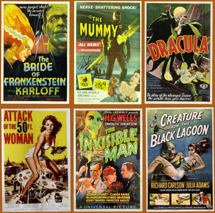 Horror Movie Posters | All Hallows' Night: ♥ Vintage Horror Movie Posters