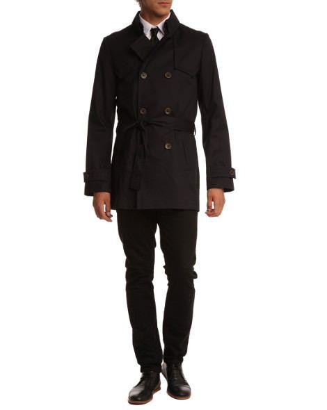 Trench coat pour homme, un indispensable pour la pluie   Peah