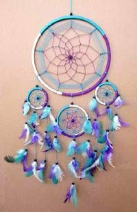 "Native American Dream Catchers | Home Dream Catchers Native American 8"" Dream Catcher. ..... You know the saying: go big or go home."