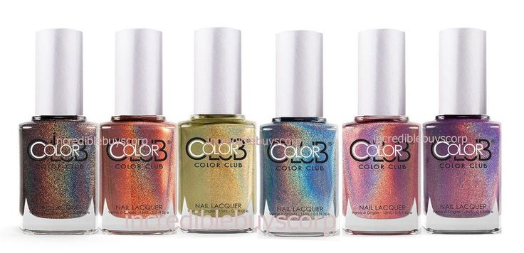Details about Color Club 2013 Halo Hues Holographic Nail Polish Lacquer (Pick Color)