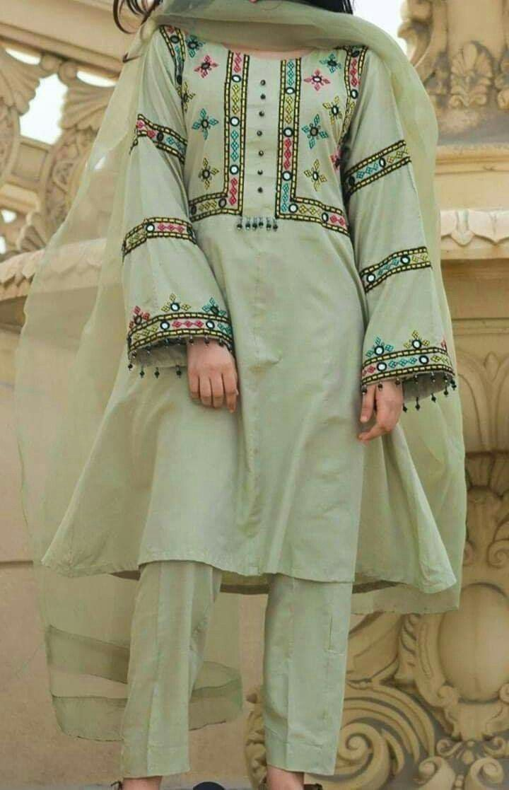 Pin By Manisha Doshi On Woman Top In 2020 Embroidery Suits Design Pakistani Dresses Casual Stylish Dresses For Girls