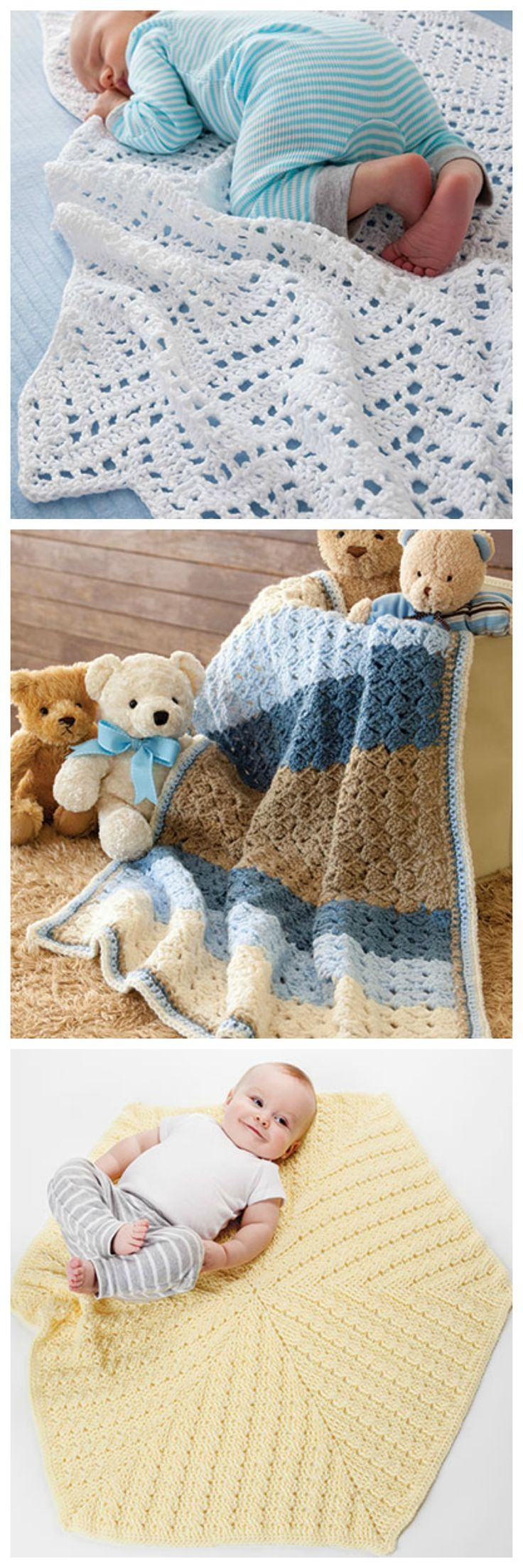 40 best crochet baby blanket patterns images on pinterest baby afghan crochet patterns from in a weekend baby afghans pattern book from annies craft bankloansurffo Images