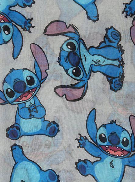 Disney Lilo & Stitch Grey Scarf | Hot Topic