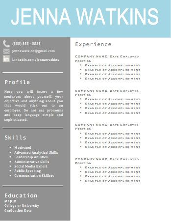 308 best Resume, Careers and ideas images on Pinterest Resume - stay at home resume