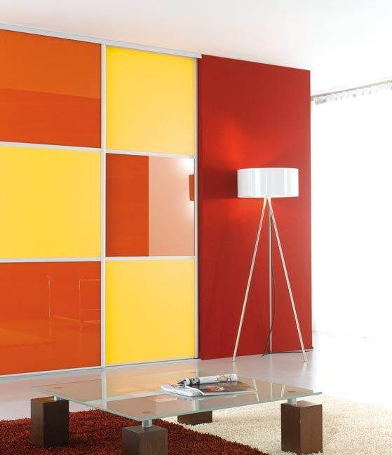 #multicouleur #multicolor #portecoulissante #Coulidoor  #light  #livingroom #home #espace