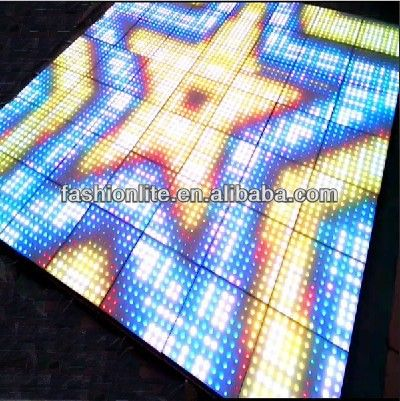 2015 Newest Led Stage Lighting P50 Led Interactive dance floor for retail
