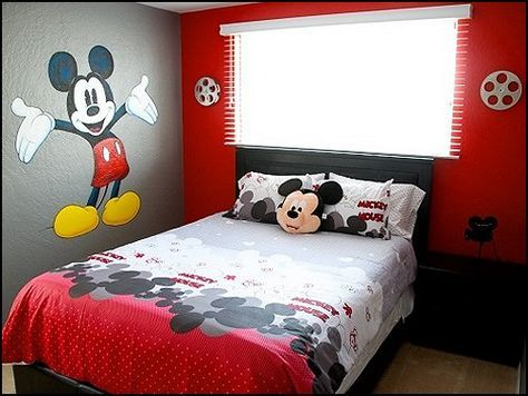 Mickey Mouse Room Ideas..Iu0027m In Love Wished I Cold Do This