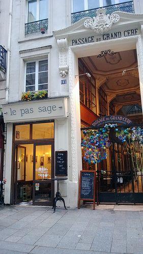 Le Pas Sage - Passage du Grand Cerf 75002 Parijs - 10ème arr.