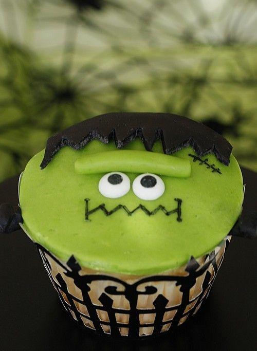 Frankie Frankenstein Cupcakes