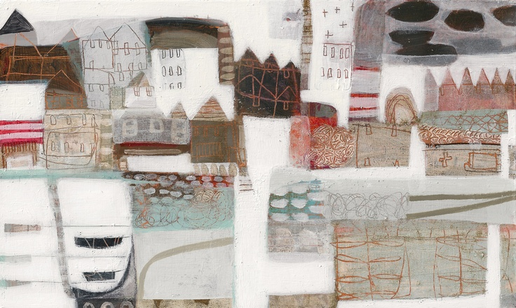 Boat Lines  by Anne Davies