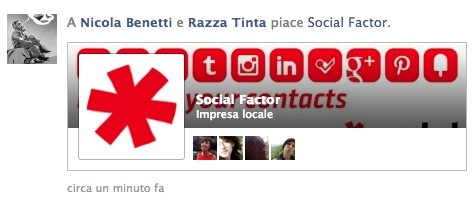 Facebook ha cambiato la visualizzazione dei Like dati alle Pagine e probabilmente anche le Ads relative.
