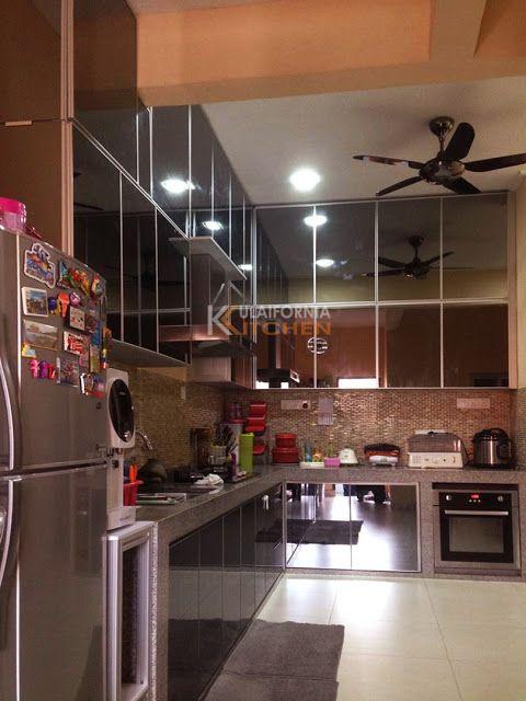 Johor Furniture And Kitchen Cabinet Aluminium Kitchen Cabinet