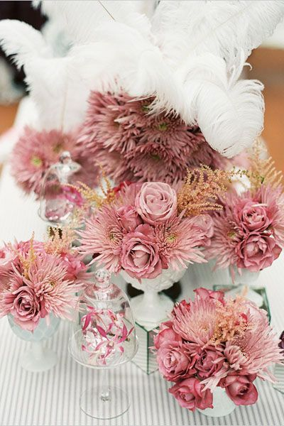 100+ ideas for a pink wedding color palette