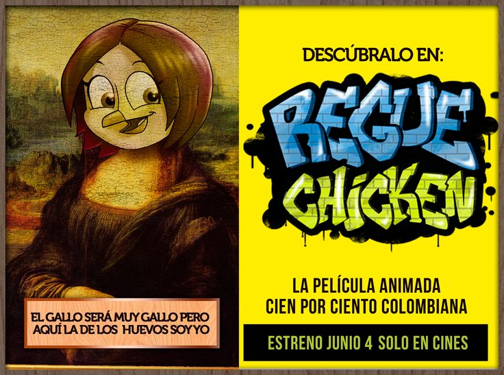 #RegueChicken #Arte