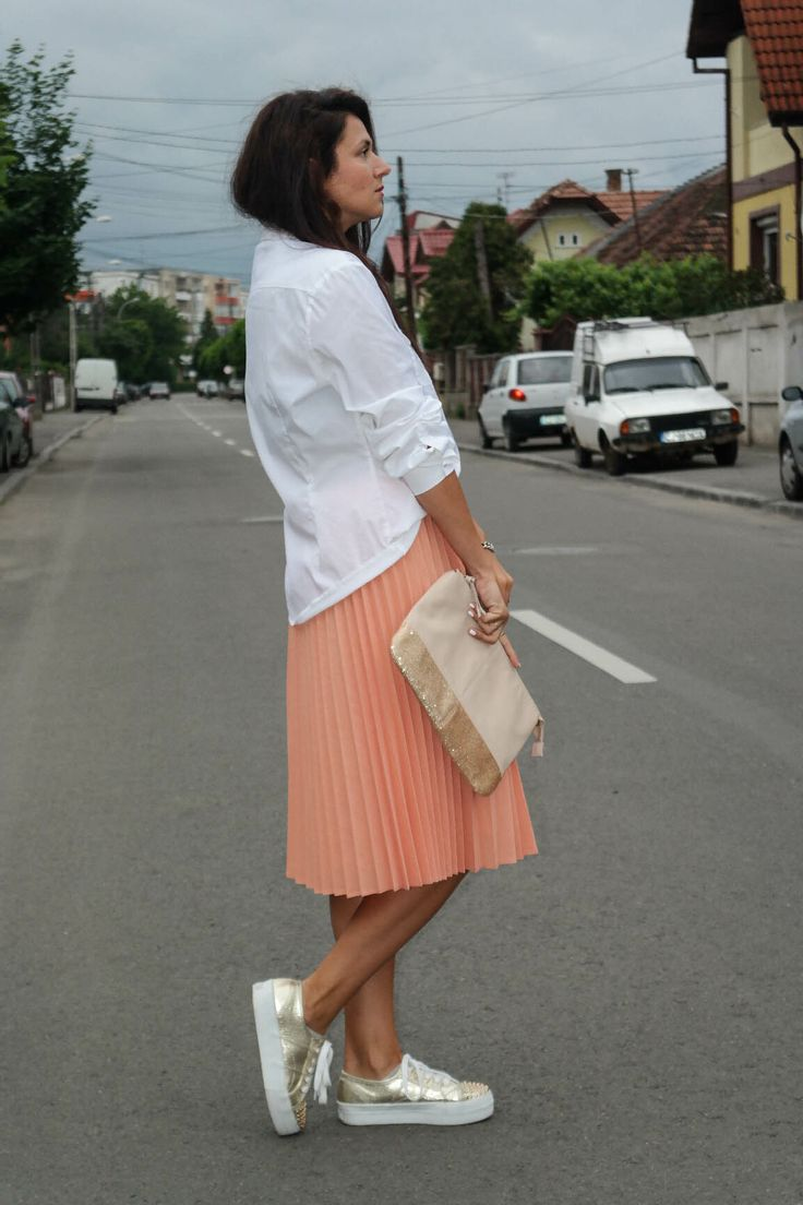 1000 images about pleated skirt sneaker on