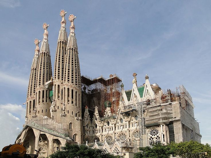 descobrir a vida de gaudi em barcelona espanha bilhete de viagem