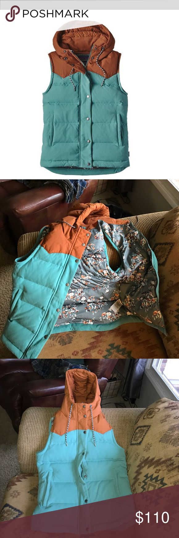 Patagonia bivy vest women's small In great used condition no flaws too small for me :( would trade for a medium in any color Patagonia Jackets & Coats Vests