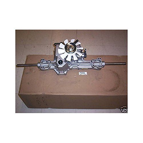 John Deere Original Equipment Transmission #AM131580   John Deere Original Equipment Transmission #AM131580 Brand new in the box hydrostatic transmission assembly for a JOHN DEERE lawn tractor.     JOHN DEERE part number is AM131580   Fits Models:L120 L130 JD L2048 L 2548  BRAND NEW JOHN DEERE PART, COMPLETE IN THE BOX.  We have virtually any part for almost any engine at below retail prices   Feel free to Email Us  http://www.cheapindustrial.com/john-deere-original-equipment-trans..