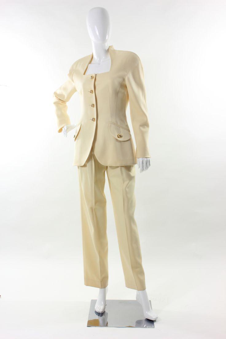 Completo Vintage Escada sz 34 anni '90 Escada Vintage Pant Suit sz 34 from 90s