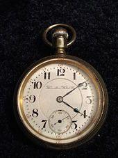 Hamilton Watch Company - pocket watch 1904