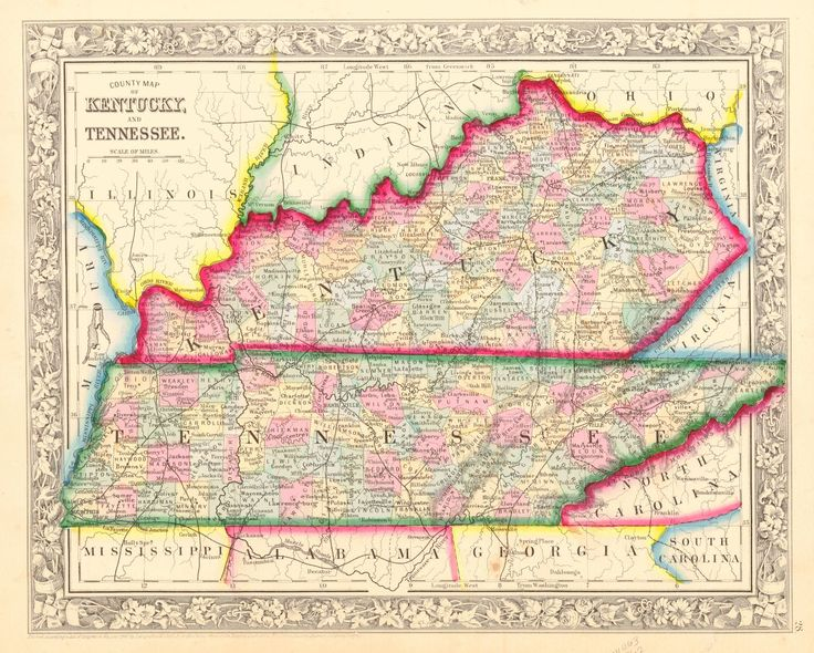 24 best Kentucky images on Pinterest Maps Kentucky and Antique