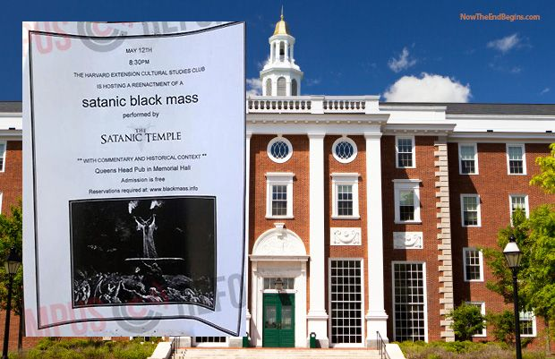 Harvard University To Conduct Satanic 'Black Mass' On Campus - Now The End Begins