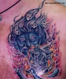 Engine Tattoos And Designs-Engine Tattoo Meanings And Ideas-Engine Tattoo Pictures