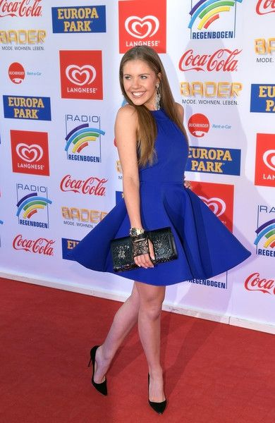 Victoria Swarovski attends the Radio Regenbogen Award 2017 at Europapark on April 7, 2017 in Rust, Germany.