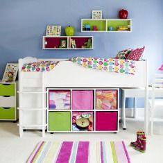 Versatile Mid Sleeper Beds for Children | ASPACE