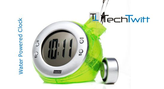 Water Powered Clock – Another Geeky Gadget to Look Out For