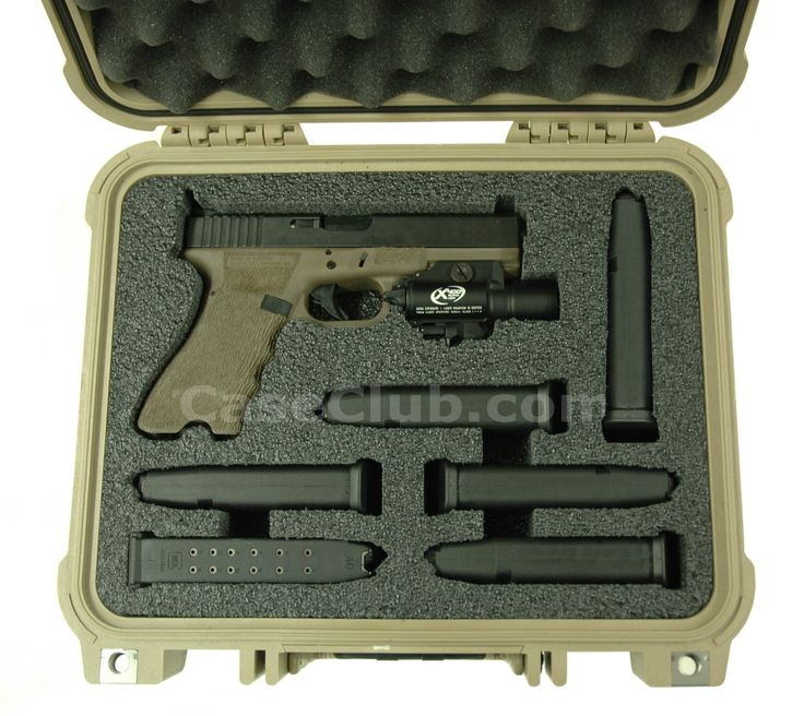 pelican pistol case setup | job # w11 0608a pelican 1400 case shipping transport cases